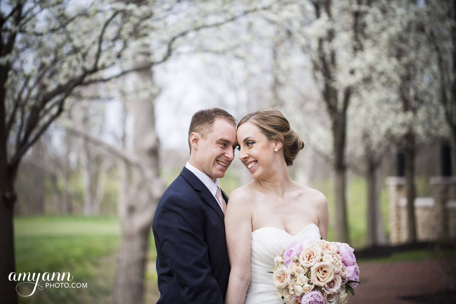 pinnacle golf club spring wedding