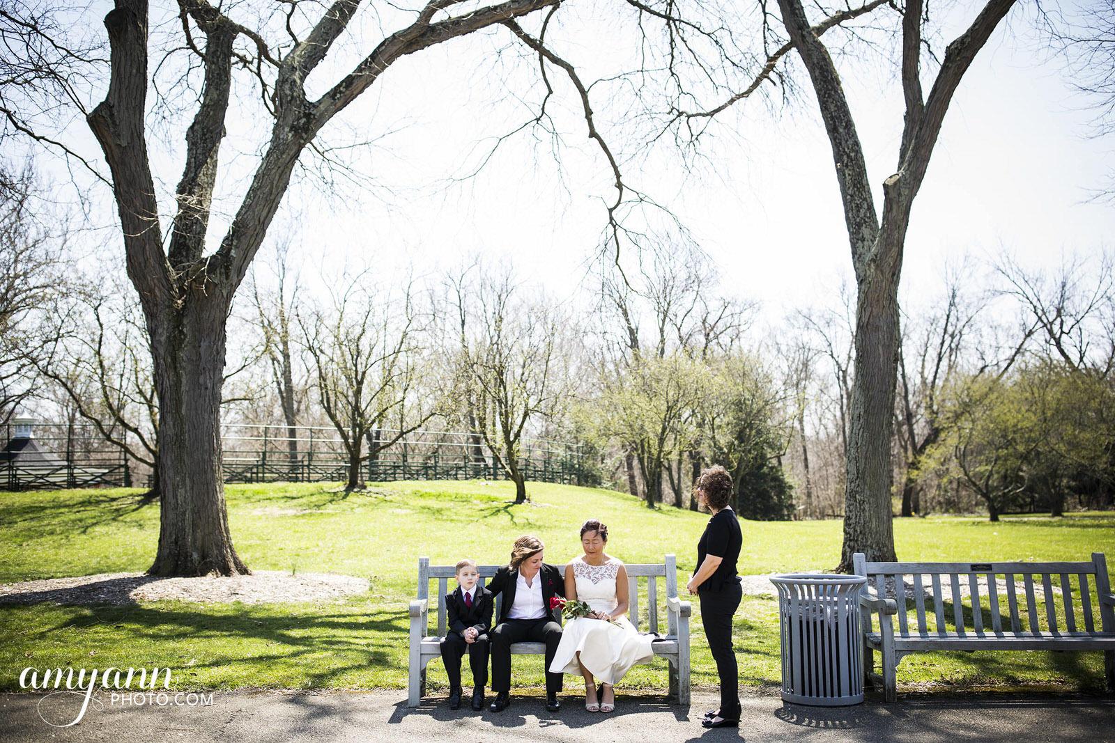 columbus ohio same-sex elopement park of roses