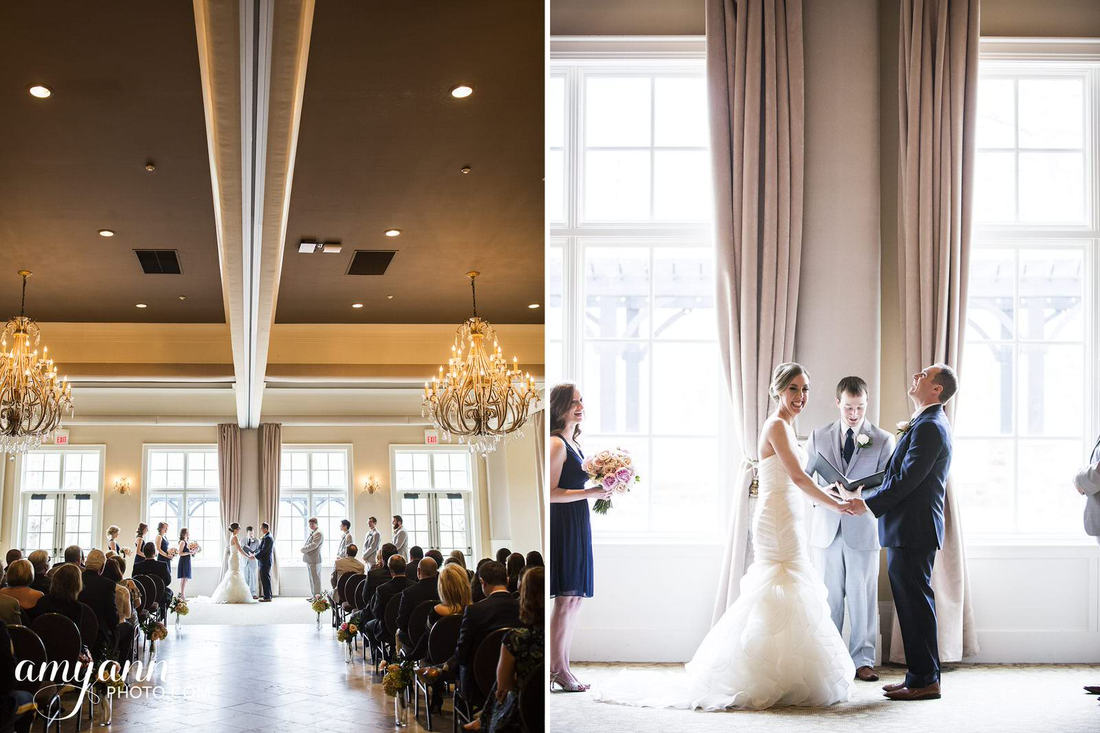 pinnacle golf club spring wedding
